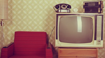 TV set television old elderly ageing aged care retro television couch wallpaper