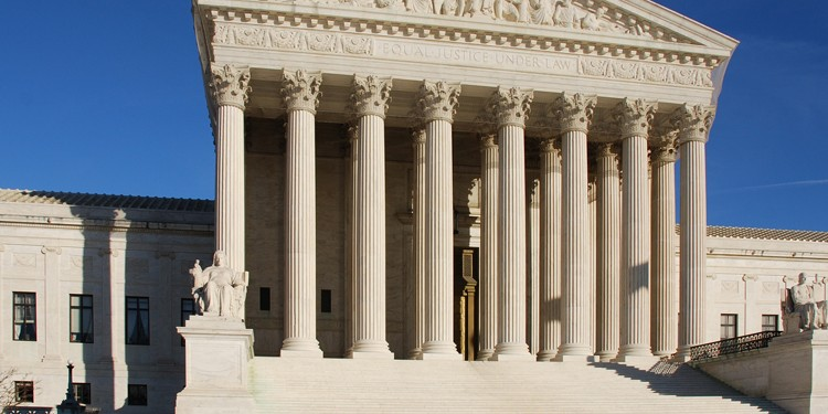 US Supreme Court (Source: Wikpedia Commons)