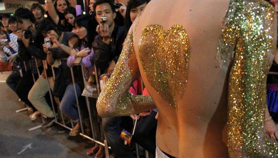 Pride Parade PrideFEST Perth glitter