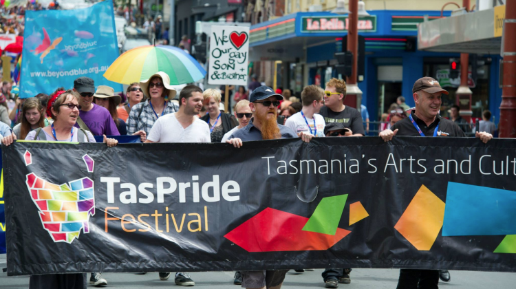 TasPride Tasmania Pride Hobart Parade