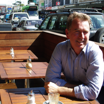 Incumbent Prahran state Liberal MP Clem Newton-Brown (Photo: Benjamin Riley; Star Observer)