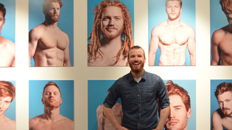 Thomas Knights, the photographer behind the Red Hot exhibition (Photo: Benedict Brook; Star Observer)