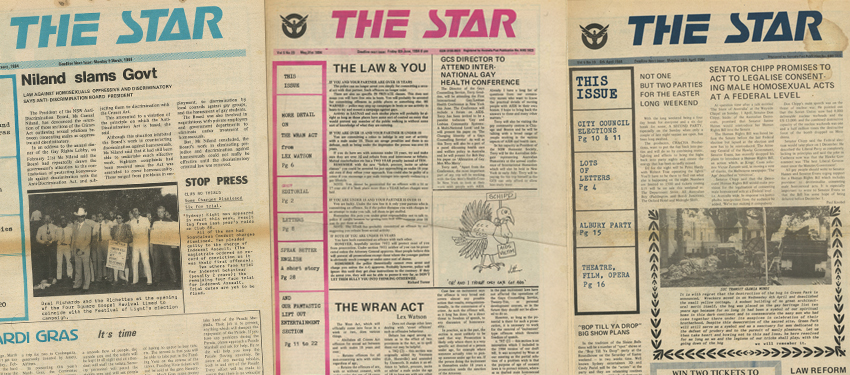 history front pages 35 years 1980s