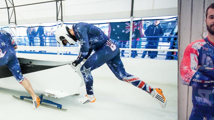 Simon Dunn bobsleigh