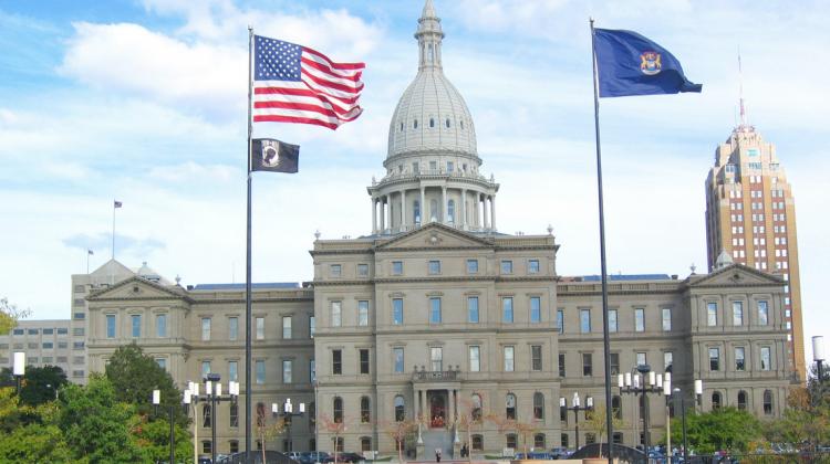 Michigan capitol parliament house