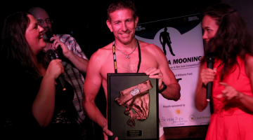 (Main image: the winner of 2012 winner of Midsumma Mooning. Photographer: Ari Neuebauer; Star Observer)