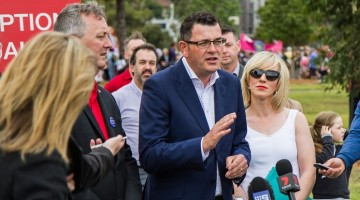 Daniel Andrews Pride March