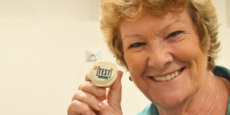 Health Minister Jillian Skinner launches ACON's new a[TEST] Oxford St rapid HIV testing centre (Photo: Benedict Brook; Star Observer)