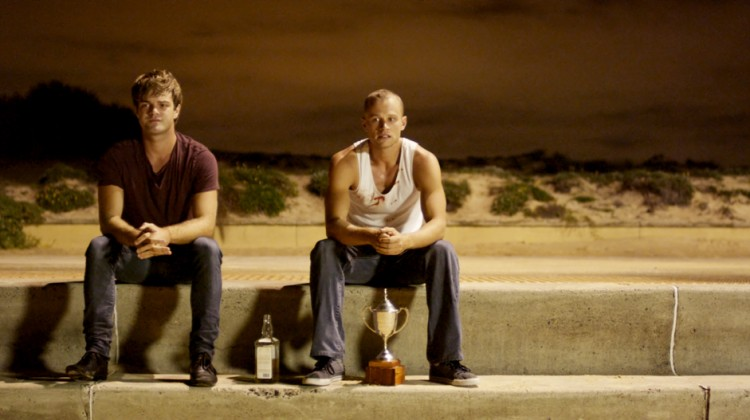 A scene from the Australian movie 'Drown', which had its world premiere at the Mardi Gras Film Festival and will soon be screened at the Melbourne Queer Film Festival.