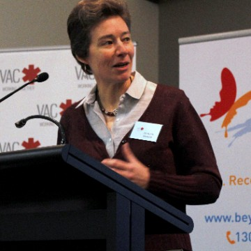 Dr Ruth McNair from the Australian Lesbian Medical Association. (Photo: Cal Hawke)