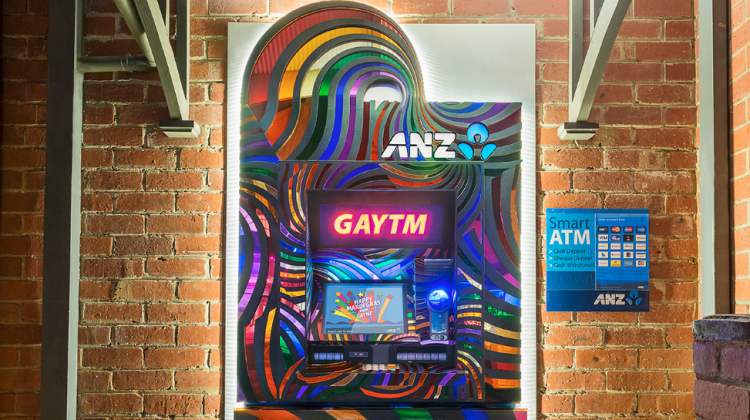 The GAYTM in Daylesford, Victoria, which has been unveiled in time for its ChillOut festival this weekend.