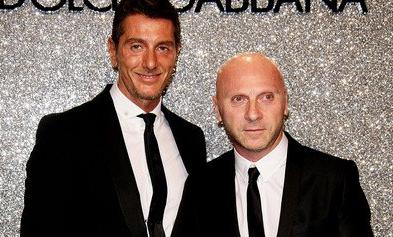 Stefano Gabbana and Domenico Dolce.