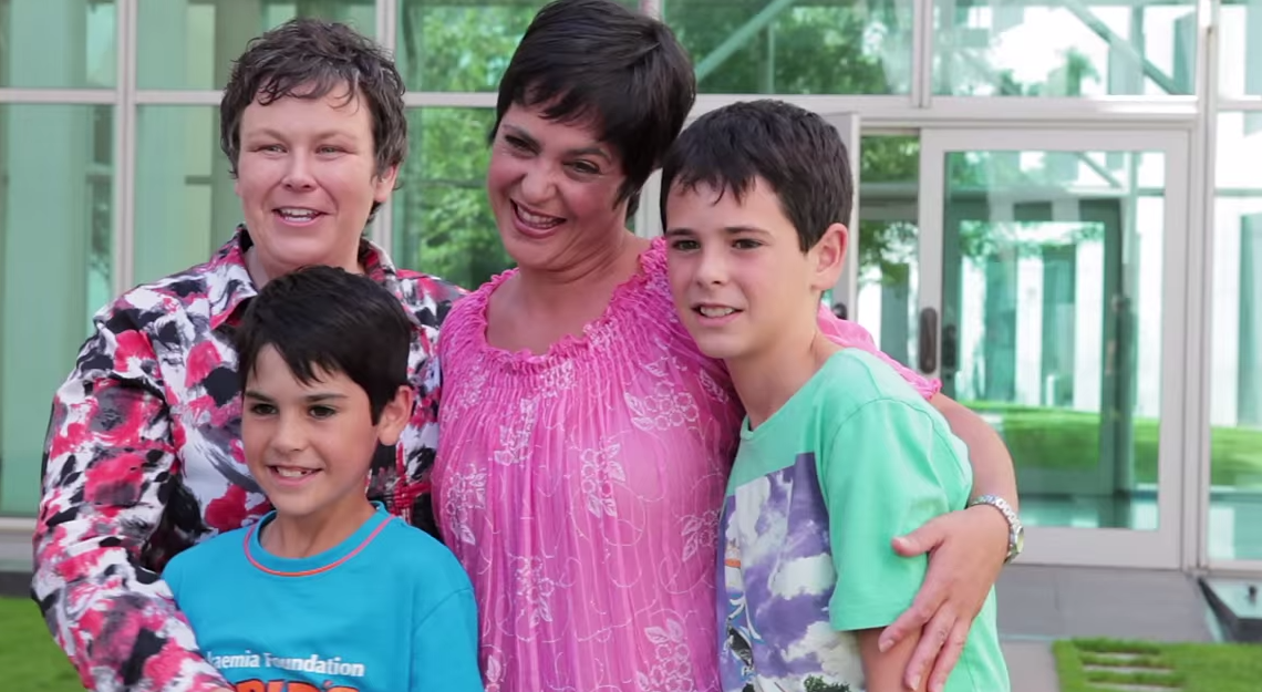 One of the families featured in Gaybies.