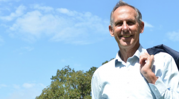 Bob Brown, the former leader of the Australian Greens. (Photo: Benedict Brook; Star Observer)