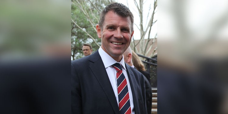 NSW Premier Mike Baird. (Image source: Wikimedia Commons)