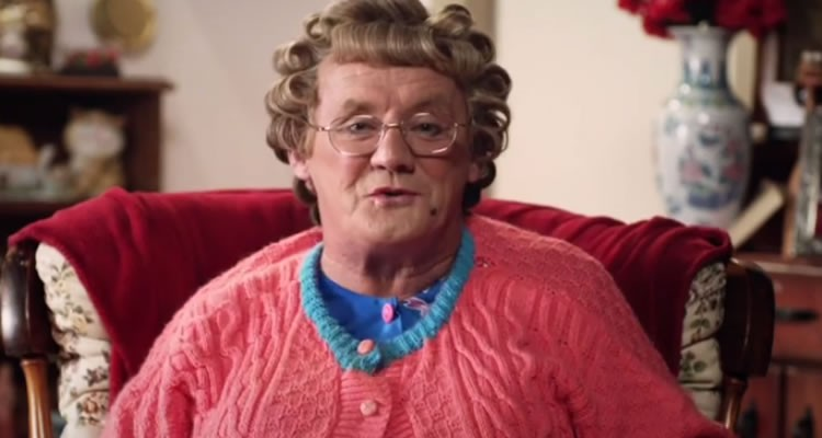 Mrs Brown urges Irish people to vote in favour of marriage equality in a video released ahead of Ireland's May 22 on the matter.
