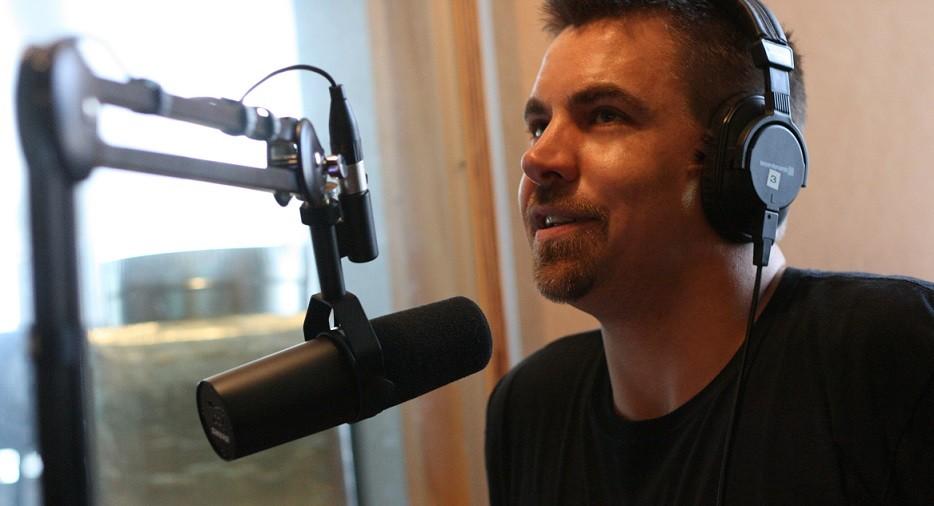 Dean Beck is a presenter at JOY 94.9. (Photo: Dean Arcuri; supplied image)