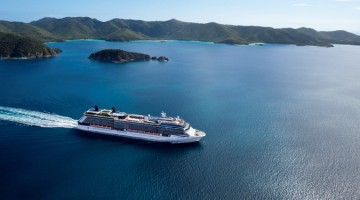 cruise ship holiday vacation islands ocean boat