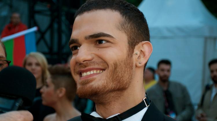 Azerbaijan's Eurovision entrant Elnur Huseynov.