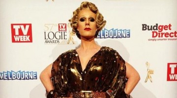 Wilma Bumhurt on the red carpet at this year's Logie Awards. (Image: Instagram)