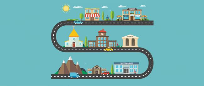 suburb city