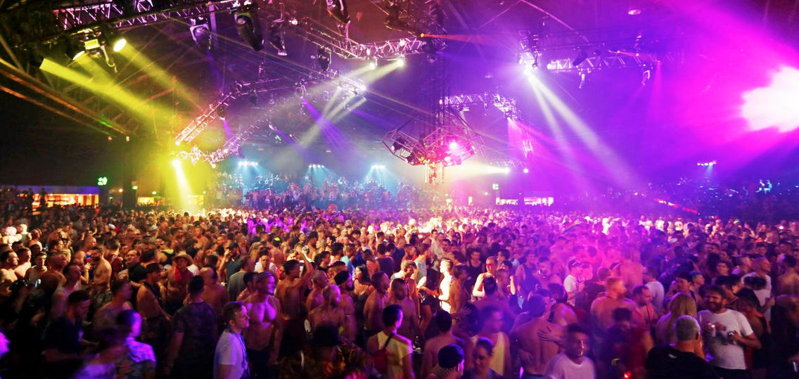 One of the dance floors from the Sydney Gay and Lesbian Mardi Gras Party 2015 (PHOTO: Ann-Marie Calilhanna; Star Observer)