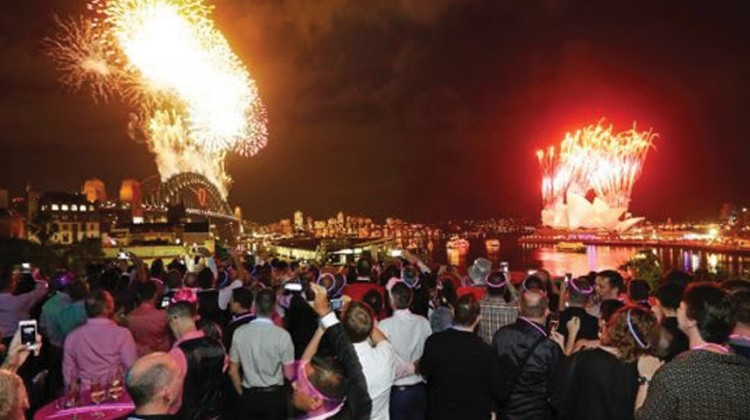 Celebration NYE 14/15 was a huge success. (PHOTO: Ann-Marie Calilhanna; Star Observer)