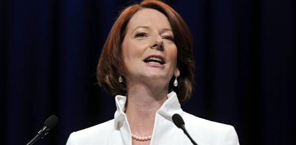 For Australian PM Julia Gillard has changed her mind on marriage equality.