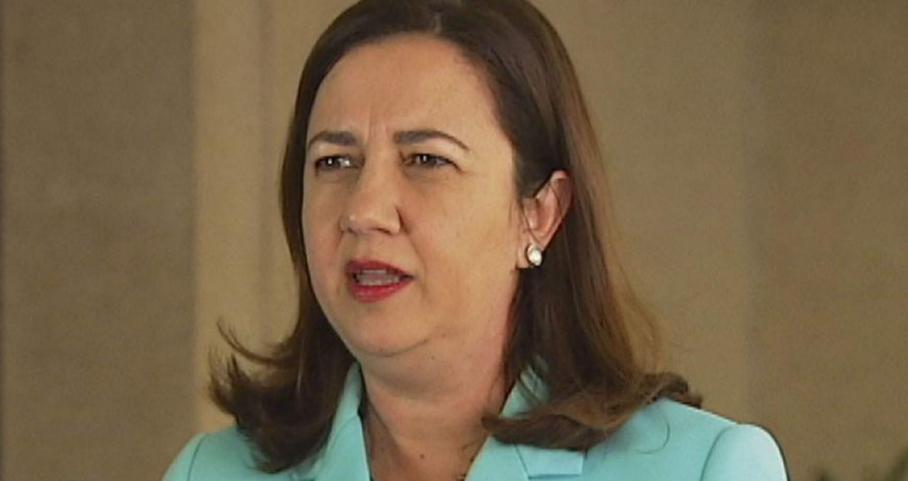 Queensland Premier Anastacia Palaszczuk (Image source: ABC TV)