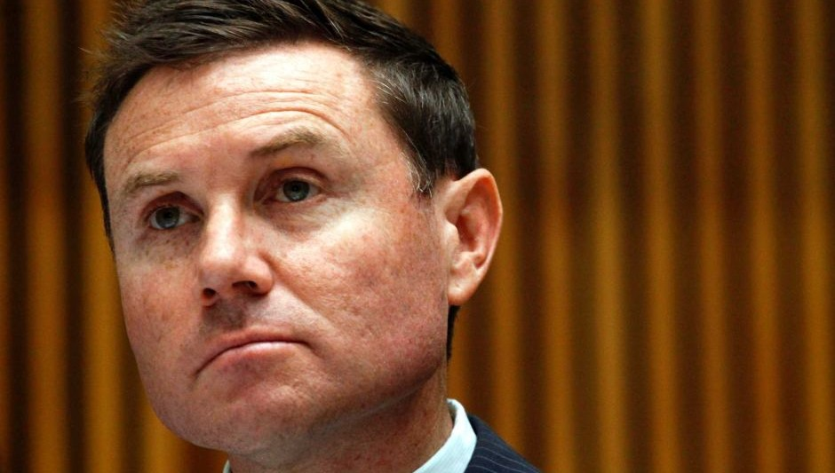 Bowman federal MP Andrew Laming (Image source: ABC News)