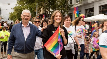 Pride March Victoria 2015 participants (PHOTO: Alexander Legaree; Star Observer)