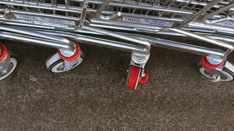 trolleys shops hospitality shopping supermarket grocery