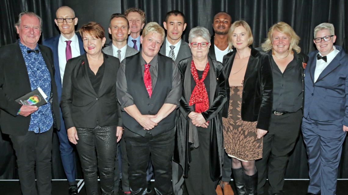 The winners of the ACON Honour Awards 2015 (PHOTO: Ann-Marie Calilhanna; Star Observer)