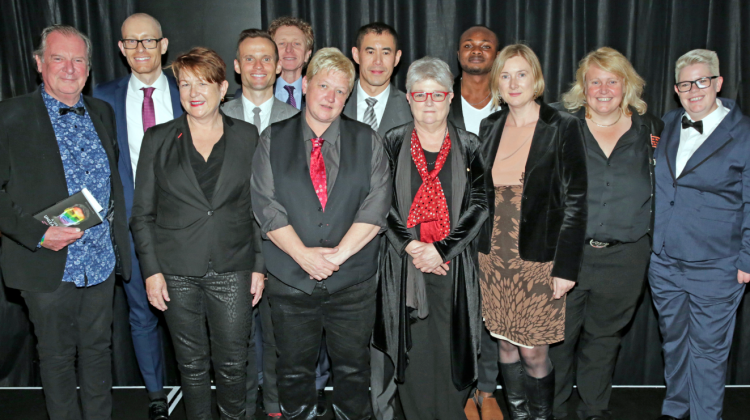 The winners of the ACON Honour Awards 2015 (PHOTO: Ann-Marie Calilhanna; Star Observer)