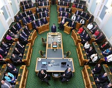 Opening Parliament 2015