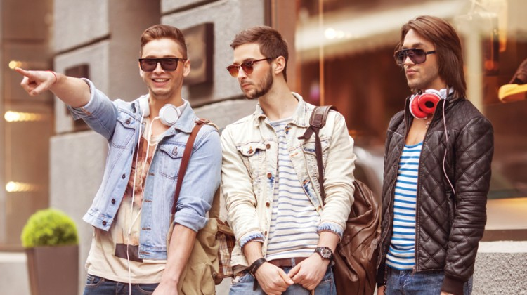 shopping gay fashion style men