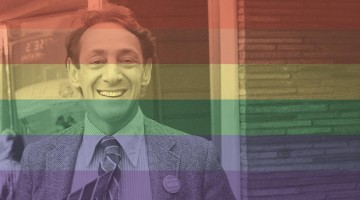 Harvey Milk was one of America's foremost LGBTI activists and political pioneers. (PHOTO: Dan Nicoletta)