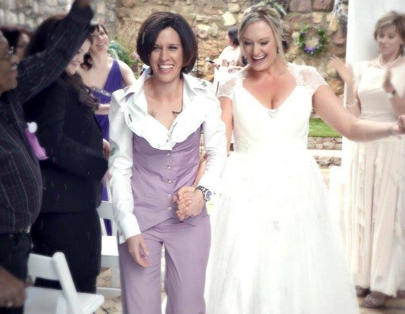 A snippet of the new  marriage equality TV ad by All Out.