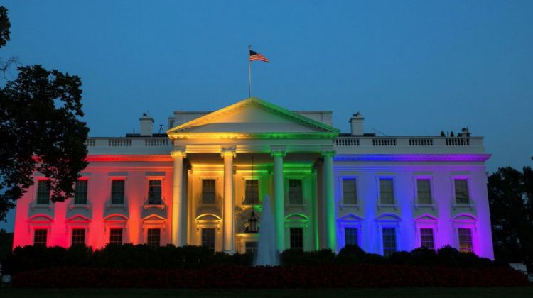 The White House was lit in rainbow colours when SCOTUS made marriage equality legal across the US. (Photo: Twitter)