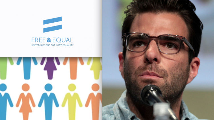"Openly gay Hollywood star Zachary Quinto is the narrator of a new UN Free & Equal video called ""The Price of Exclusion""."