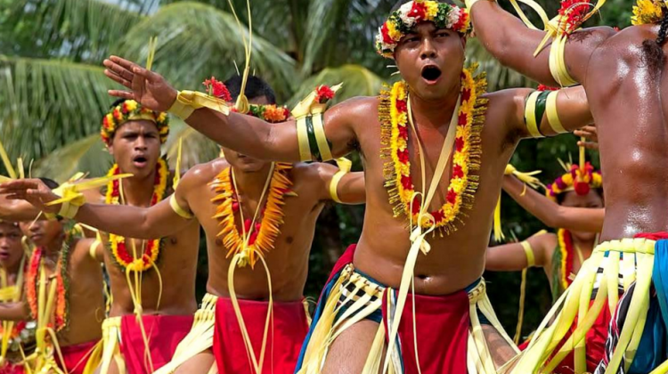 Micronesia dancers (Image source: YouTube)