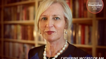 Catherine McGregor. Photo: Australian of the Year Awards