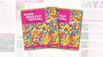 Mardi Gras Film Festival  official guide Facebook banner