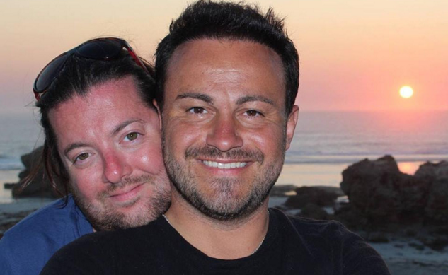 David and Marco Bulmer-Rizzi were on their honeymoon in Australia when David (left) died in a tragic accident. (Photo: Facebook)