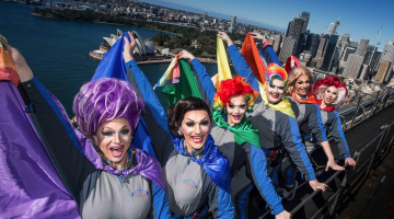 bridge climb sydney drag queens