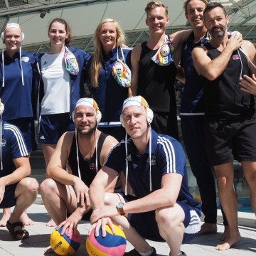 Victoria Seals and Melbourne Surge Water Polo