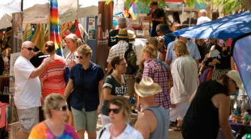 Sunshine Coast Pride Fair Day 2015 (photo: David Alexander; Star Observer)