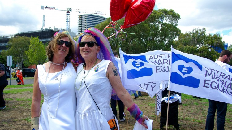 Pride March marriage equality