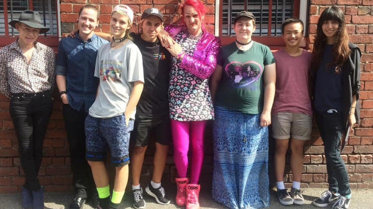 Some members of Melbourne's trans and gender diverse community. (Supplied photo)