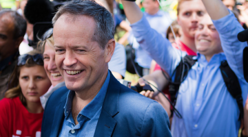 Bill Shorten (PHOTO: Coal Photography; Star Observer)